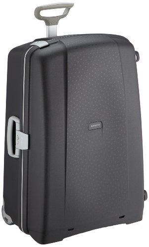 Samsonite Aeris Upright L Suitcase Luggage, 78 cm, 118.5 Litre, Black (Black)