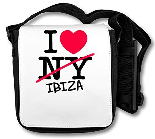 I Love Ibiza Spain schoudertas