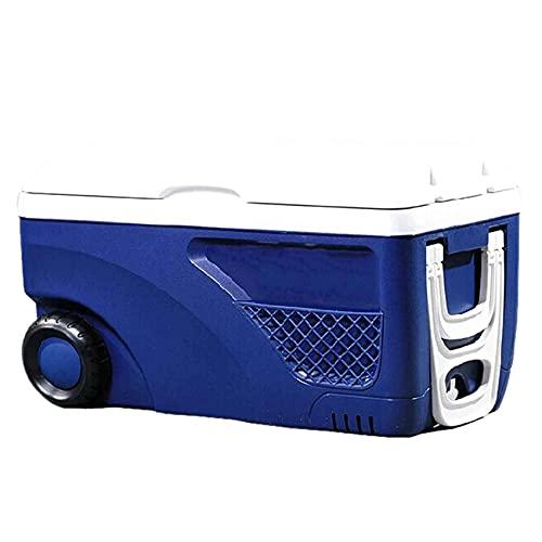 SuRose Cooler Bag, Refrigerador portátil de 65L con Ruedas, Bolsa de Almuerzo Grande con Aislamiento Refrigerador a Prueba de Fugas Drybox para Acampar/BBQ/Actividades Familiares al Aire Libre,