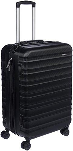 Amazon Basics - Maleta de viaje rígida giratoria - 68 cm, Negro