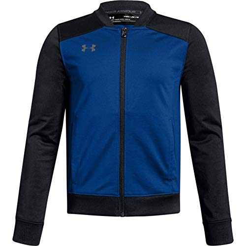 Under Armour Boys' Challenger II Track Jacket , Royal Blue (401)/Graphite , Youth X-Large