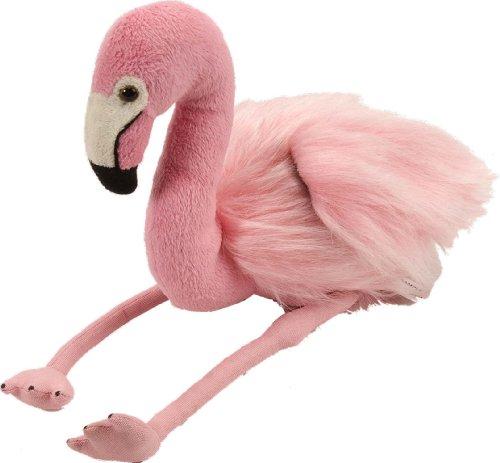Wild Republic Plüsch Flamingo, Cuddlekins Kuscheltier, Plüschtier 20cm