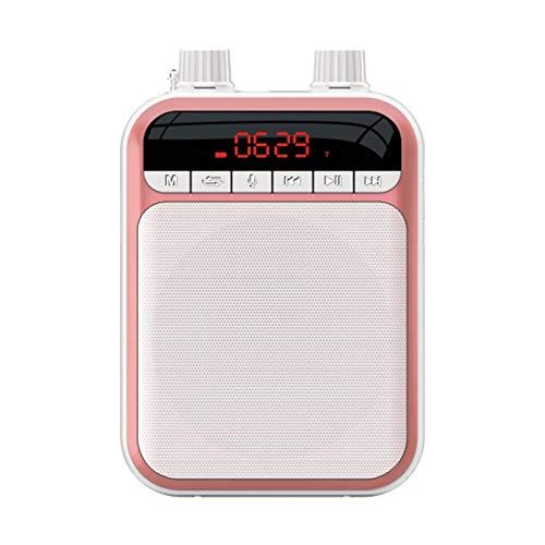 Liuxingyu Amplificador De Voz, Portátil Voice Amplifier Altavoz con Auriculares Micrófono Recargable...
