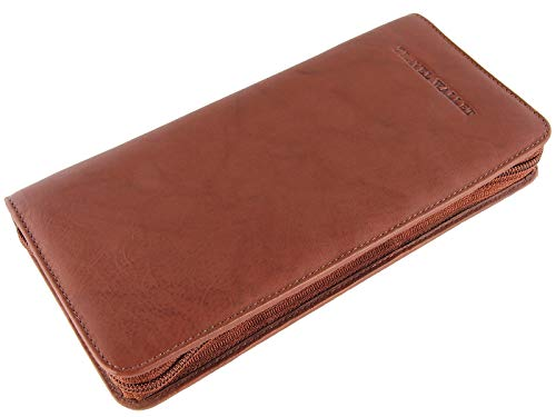 Visconti Large RFID Blocking Leather Travel Wallet for...