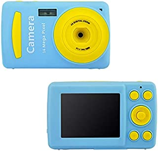 FairOnly Mini Children Digital Camera Video Camcorder 720P HD 4 X Zoom Video Camera with 2.4 inch TFT LCD Screen Blue