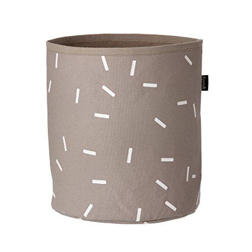 Ferm Living - Aufbewahrungskorb - Wäschekorb - Stick - Baumwolle Ø 22 cm Höhe 25 cm