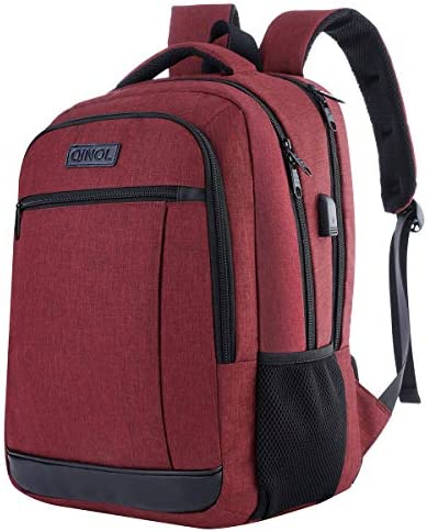 Travel Laptop Backpack Anti Theft Work Bookbags With Usb Charging Port Water Resistant 15 6 product image