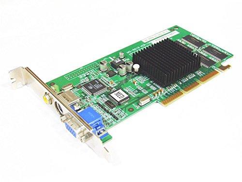 Medion GeForce2 MX 32MB VGA S-Video Composite TV-Out AGP Graphics Card MS-8818 (Generalüberholt)