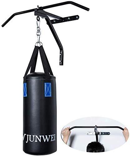 GOOCO Heavy Duty Boxsack Kleiderbügel Wandhalterung Stahlhalterung Hängeständer Boxen, MMA, Krafttraining, Heimtraining, Fitnessgerät