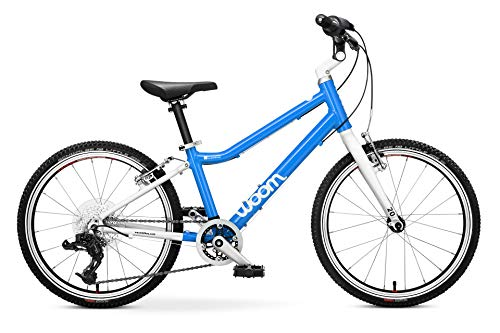 "woom 4 Pedal Bike 20"", 8-Speed, Ages 6 to 8 Years, Blue"