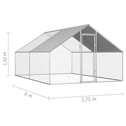 vidaXL Hühnerfreilauf Premium - 2