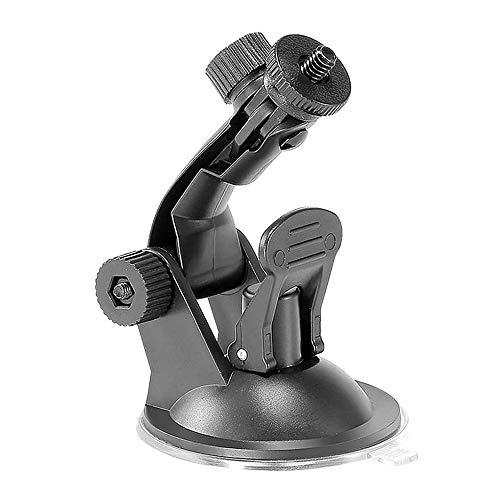 TEKCAM Action Camera Saugnapfhalterung Windschutzscheibenhalterung für Gopro Hero 6 APEMAN AKASO Crosstour Victure Campark DBPOWER Rollei QUMOX Wasserdichte Außenanschlüsse Action Camera