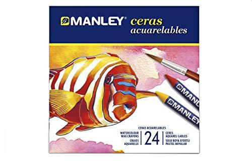 Manley MNQ000424 - Ceras, 24 unidades