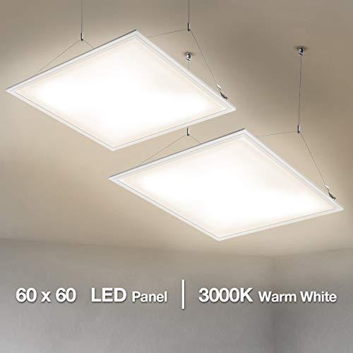 LE Pannello LED di Ricambio Plafoniera da Ufficio...