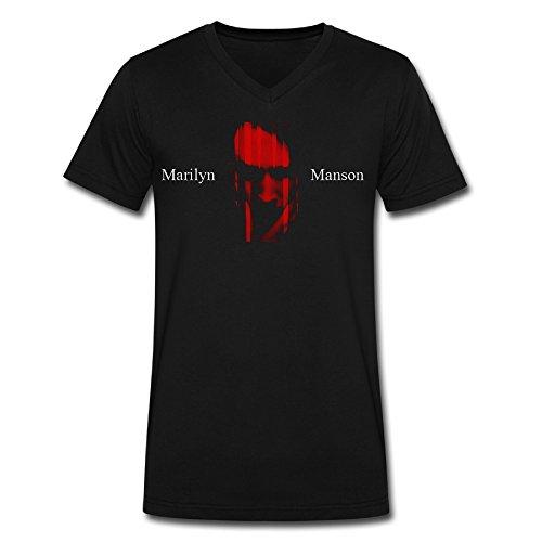 LMN YC Marilyn Manson Logo.PNG - Camiseta para Hombre, Color Negro