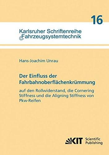 Der Einfluss der Fahrbahnoberflaechenkruemmung auf den Rollwiderstand, die Cornering Stiffness und die Aligning Stiffness von Pkw-Reifen (Karlsruher ... / Institut fuer Fahrzeugsystemtechnik)