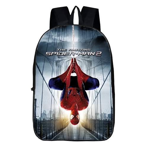 Spider-Man - Mochila escolar para niños, diseño de Spider-Man de 1ª clase