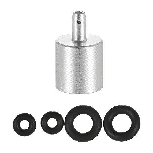Lixada Cartucho Gas Refill Adaptor Boquilla Tipo de Botella Gas Butano Recipiente de Cartucho Gas para Tipo de Tornillo