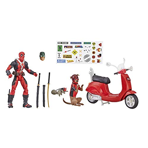 "Marvel E4702AS00 E4702 Legends Series 6"" Deadpool con scooter"