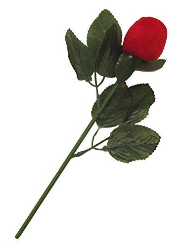 Rosa Rossa con Porta-Anello - Perfetto per la Vostra proposta di Matrimonio