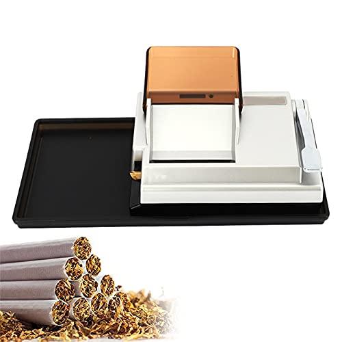 Cigarrillos Máquina Eléctrica, Llenado Entubar Automática, Entubadora De Cigarros Tubos Liar Tabaco, Rellenadora De Fumar