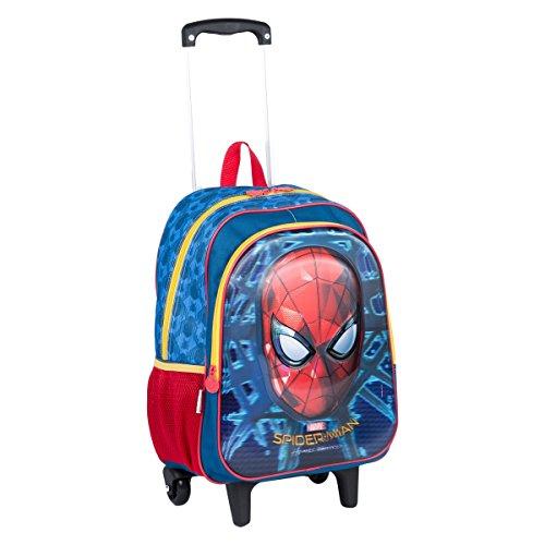 Mochilete Grande Spiderman 18X