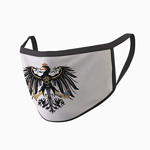 Copytec Mundmaske Preußen Adler Alter Fritz Deutschland Heimat Stolz Bedruckt #34646