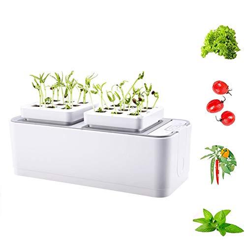 FDYD LED Jardinage à l'intérieur Kit hydroponique Growing Kit système w/LED Lumière Plante...