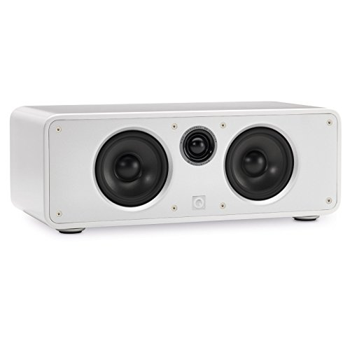Best Price Q Acoustics Concept Center Channel Speaker (Gloss White)