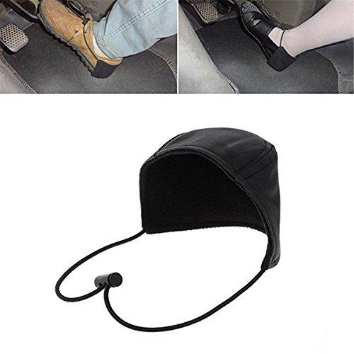 Wommty Unisex Verschleißfeste Schuh-Fersenschutz, Stoff fürs Autofahren, verhindert Verschleiß, Schuhe Fersenschutz für Fahrer zum Schutz Ihrer Schuhe während der Fahrt, 1 Stück