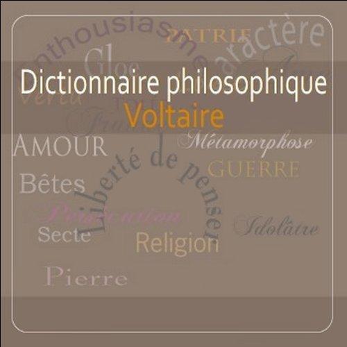 Couverture de Dictionnaire philosophique