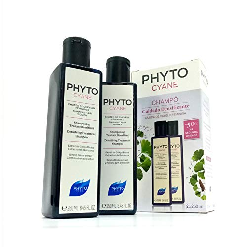 Phyto Phytocyane Duo Verdichtungs-Shampoo, 2 x 250 ml