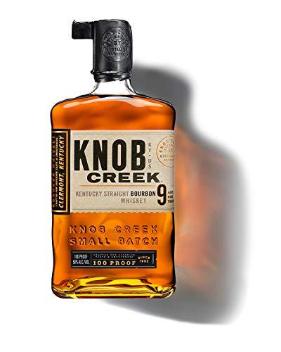 Knob Creek Kentucky Straight Bourbon Whisky, langanhaltend warmer Geschmack, 50% Vol, 1 x 0,7l