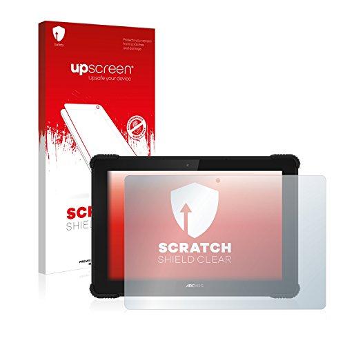 upscreen Schutzfolie kompatibel mit Archos 101 Saphir – Kristallklar, Kratzschutz, Anti-Fingerprint