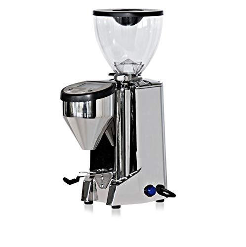 Rocket Fausto Alu Poliert Digital elektrische Scheibenmühle für besten Kaffeegenuss
