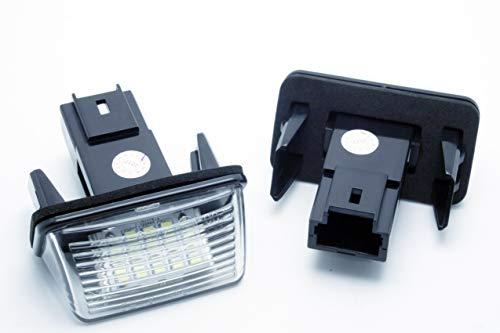 VINSTAR LEDPremium 2 x feux de brouillard plafonniers LED pour voiture P. 206 CANBUS