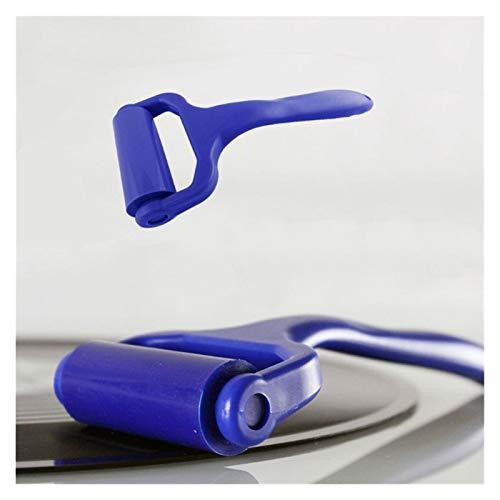 SHIZHI Limpiador de Vinilo Reutilizable Limpiador antiestático Limpieza de Silicona LP Dispositivo Limpiador Herramientas
