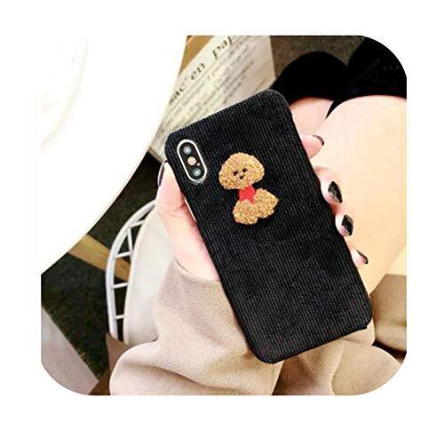 Schutzhülle für iPhone 6 6S 7 8 Plus X 11 Pro Max Case Cute Sheep Pinguin Teddy Dog Cover für iPhone X XR XS MAX-A für iPhone Xs