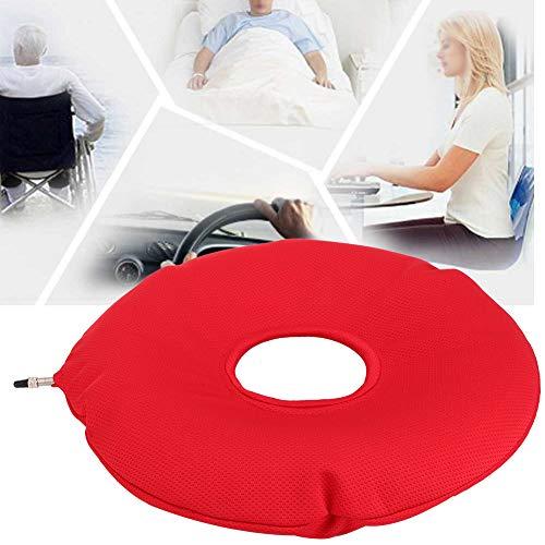 Rundes Anti-Dekubitus-Kissen, Lendenwirbelstütze für Hämorrhoiden Schwangerschaft Rump Schmerzen, Donut Kissen Aufblasbares Kissen Heimgebrauch Auto oder Büro