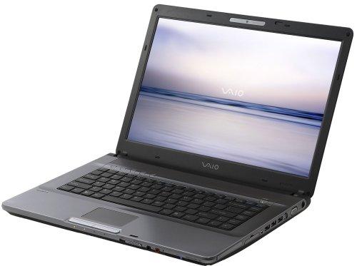 Sony Vaio VGN-FE31Z 39,1 cm (15,4 Zoll) WXGA Laptop (Intel Core Duo T5600 1.83 GHz, 2 GB RAM, 200 GB HDD, DVD+/-RW DL, GF Go7600, XP Media Center)