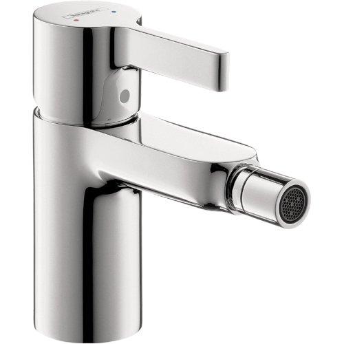 hansgrohe 31261001 Metris S 5-inch Tall 1 Bidet Faucet in Chrome
