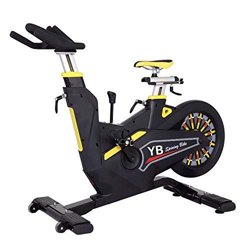 YOVYO Bicicleta Spininng Bicicleta Estatica Pedales Estaticos Personas Mayores Bicicletas Estaticas Elipticas, Rodamiento 150KG, Volante De 20KG, Proceso De Pintura De Piano