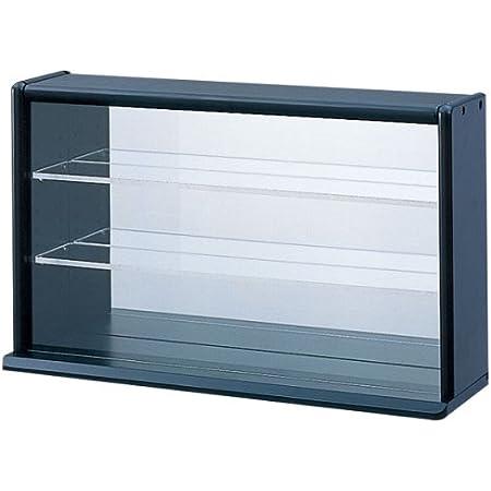 ナカバヤシ コレクションケース ミニワイド 透明アクリル棚板タイプ CCM-002D ブラック