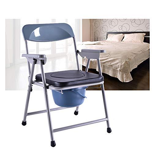 LYF STOOLS Folding Toilettenstuhl, Schlafzimmer Sitz, Folding Toilettenstuhl - für ältere Senioren, Behinderte, Behinderte, Großeltern