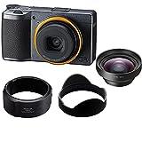 Ricoh GR III Street Edition Digital Camera - Bundle GW-4 Wide Conversion Lens, GA-1 Lens Adapter