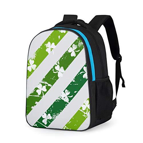 Dogedou St Patrick's Day Unisex stijl student kinderrugzak tiener business reistas pak voor wandelen