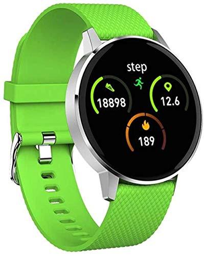 KLT Reloj inteligente para mujer, Bluetooth, impermeable, con Bluetooth