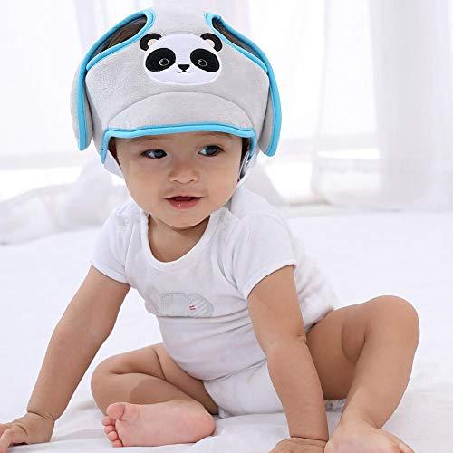 Baby-Schutzhelm, atmungsaktiv, Kopfschutz-Kissen mit verstellbaren Riemen, Schutzkappe mit Gurten für kleine Kinder, welche laufen und sitzen lernen.