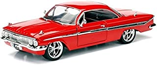 Jada Fast & Furious The Fate of the Furious (2017) Dom's Chevrolet Impala 1/24 Scale Diecast Model Car Red