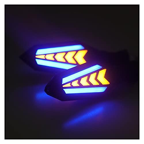 XCVUISDFJK Accesorios de decoración de Coches 2pcs Motorcycle Gurn Signal Lights Flowing...